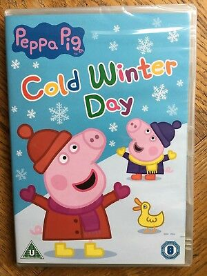 Peppa Pig Cold Winter Day 10 Episodes - DVD UK Region 2 Factory Sealed! - Peppa Pig New Episodes