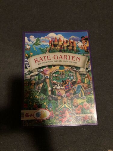 Kinderspiel Rate - Garten, Ich sehe was, was Du nicht siehst! Ab 1 Jahre 2-6 Sp.