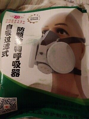 Tf-0701 Double Filters Half Face Gas Mask Painting Spraying Facepiece Respirator