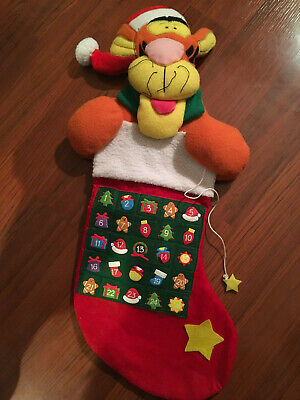 Vintage Disney Tigger electronic advent calendar - gently used 23 inches tall