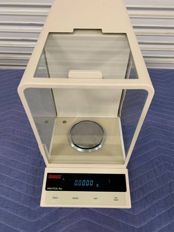 Ohaus Analytical Plus AP110S 110g X 0.1mg Scale Balance