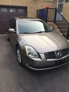 2005 Nissan Maxima 3.5SL as is