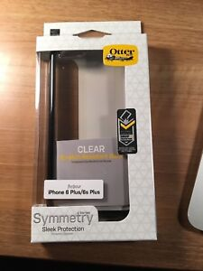 Otter Box clear with black edges