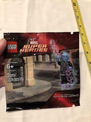 Lego Marvel Spiderman 2 Electro Mini Figure 5002125 New & Polybag Sealed