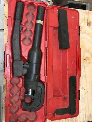 Burndy Hydraulic Manual Hand Crimping Tool