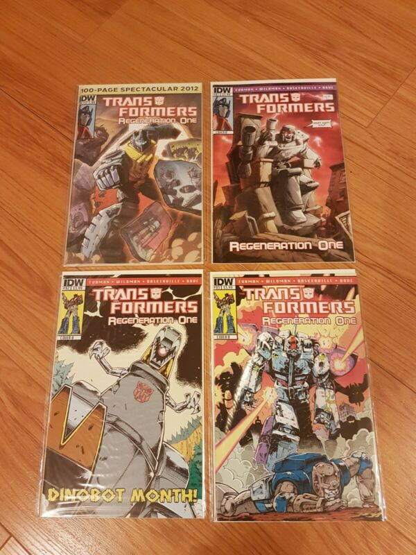 Transformers Regeneration One #81-83 85-97 + 100 Page Spectacular IDW 2012 BX3