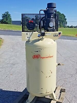 Used 5-hp Ingersoll Rand Piston Air Compressor
