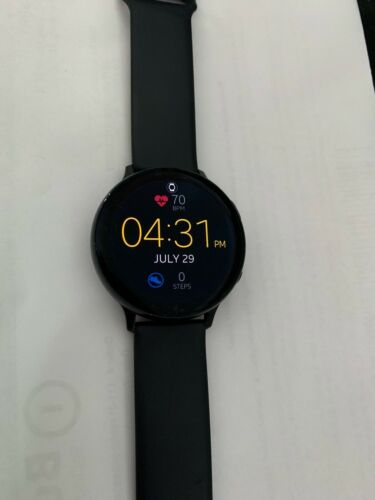 Samsung Galaxy Watch Active 2 SM-R820 44mm Aluminum Case With Sport Band... - $95.00