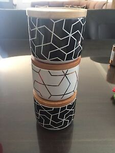 3 geometric canisters Warwick Southern Downs Preview