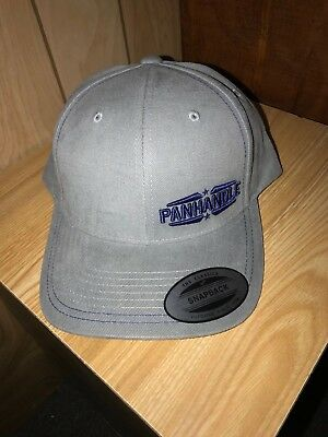 Rock  N Roll Gray Baseball Cap Hat With Blue Logo Cbc4706 Nwt
