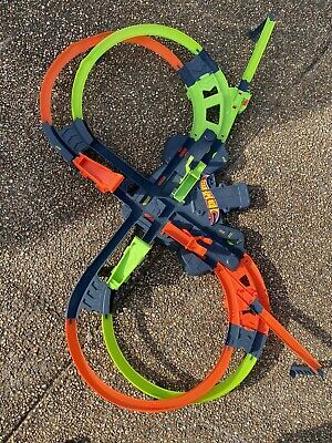 Mattel Hot Wheels Colossal Crash Track Set: Pre-Owned With All Pieces. No Cars.