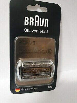 Braun Series 9 92S Afeitador Eléctrico Piezas Plata