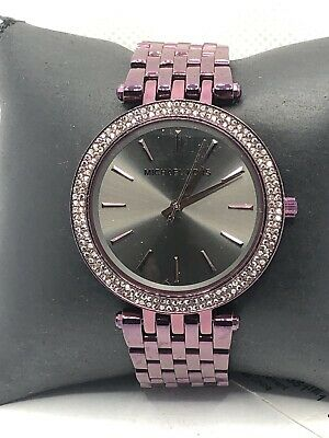 Michael Kors MK3554 Women's Stainless Steel Analog Dial Quartz Wrist Watch HK548