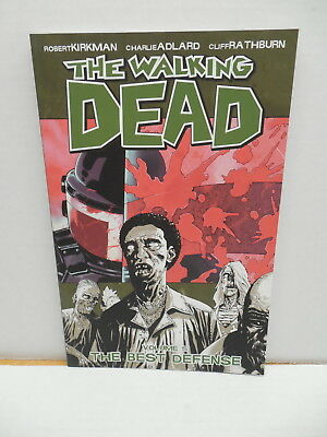 Walking Dead Comic Book Trade Paperback TPB Vol. 5 Best Defense Kirkman (Best Comic Trade Paperbacks)