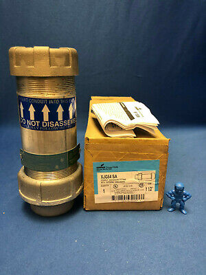 Crouse-hinds Xjg54 Sa 1-12 Conduit Expansion Fitting With Integral Grounding