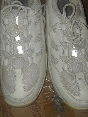 Z-Coil Z-Walker Women's Size 9 White Leather Orthopedic Shoes