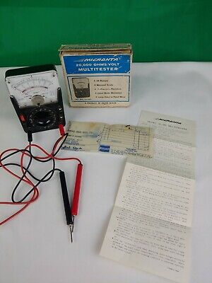 1971 Radio Shack Micronta 22-022 Multitester Multimeter Japan