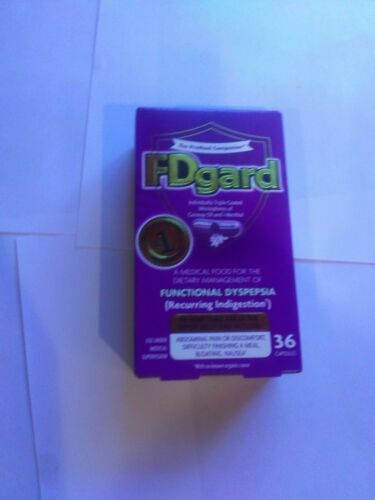FDGard 36 capsules per.order.exp11/21 Free shipping