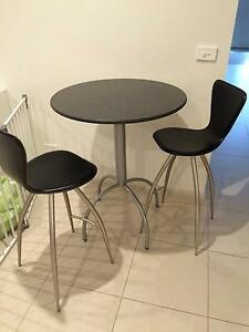 Granite bar table with stools- reduced Skye Frankston Area Preview