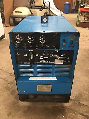 Constant Current Acdc Arc Welding Machine 330st Aircrafter Miller Electric