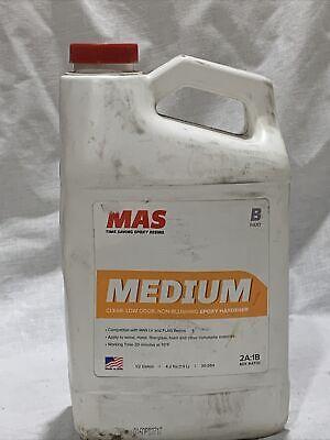 Mas Medium Clear Low Odor Non-blushing Epoxy Hardener 2a1b Part B 12 Gallon