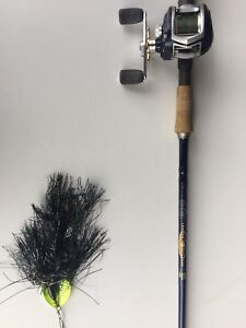 St. Croix Legend Musky & Toro Winch Reel