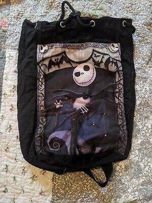 Disney Nightmare Before Christmas Canvas Bag