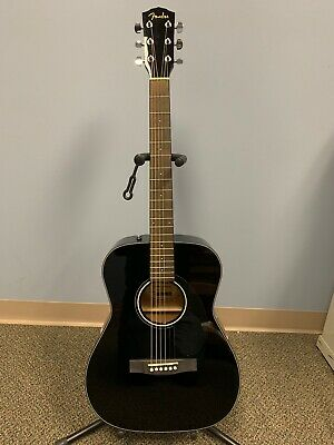 Fender CC-60S Acoustic Guitar - Black