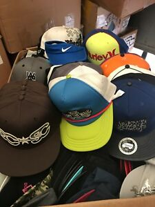 NEW LICENSED DC Hurley Nike puma baseball hats caps liquidation