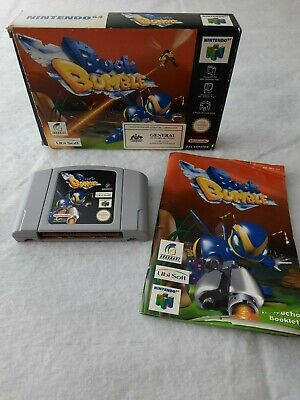 Buck Bumble N64 Original Boxed PAL AUS Genuine Tested (NO INSERT)
