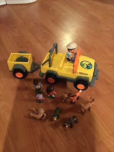 Jeep et remorque de Diego Fisher Price