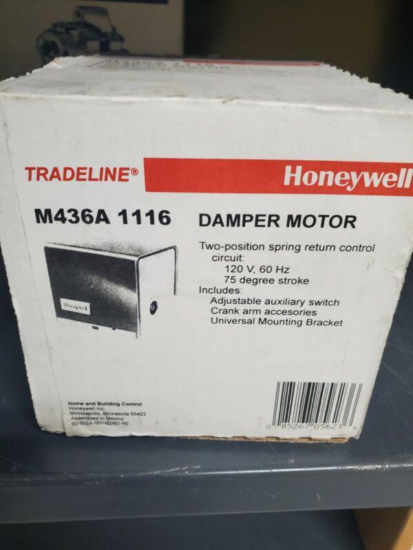 HONEYWELL M436A1116 NIB DAMPER MOTOR