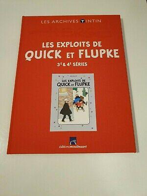 Archives Tintin - Les Exploits de Quick et Flupke - 3e & 4e séries  - TTBE