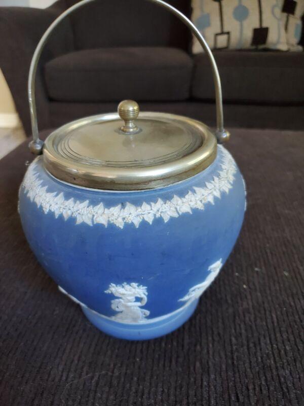 Antique Biscuit Barrel