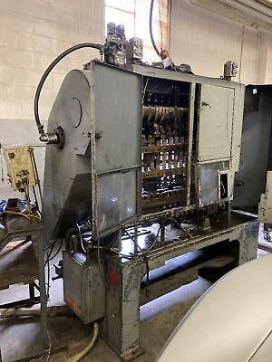Waterbury Farrel 10121 Icop Transfer Press Wdouble Cam Blank Hold Down
