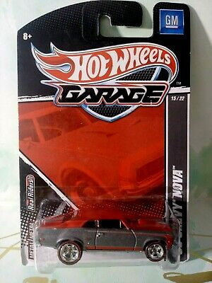 HOT WHEELS 1/64 GARAGE 68 CHEVY NOVA 15/22 NEW FREE SHIPPING