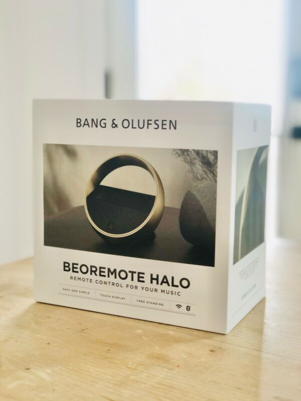 Bang & Olufsen Beoremote Halo Table Top Version - Brass Tone