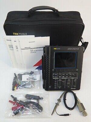 Tektronix Tekscope Ths720 Std Auto Ranging 100mhz Scope Dmm Oscilloscope W Case
