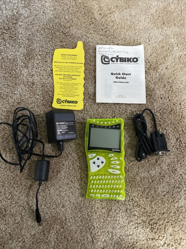 vintage Cybiko 1.2 wireless inter-tainment system tested Working Rare