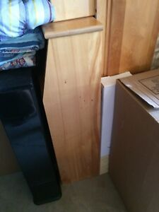 Single bed with mattress, dresser, night table and shelf