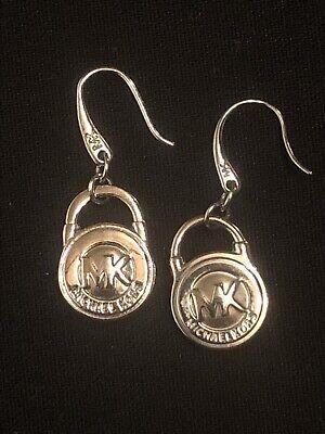 Michael Kors Padlock Dangle Earrings
