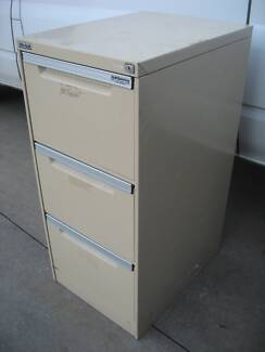 Elite Built 3 Drawer Ball Bearing Filing Cabinet