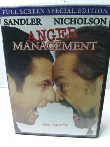 Anger Management DVD, 2003, Full Frame Special Edition Flawless Disc - $2.90