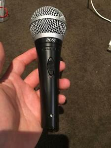 New Shure PG58 microphone