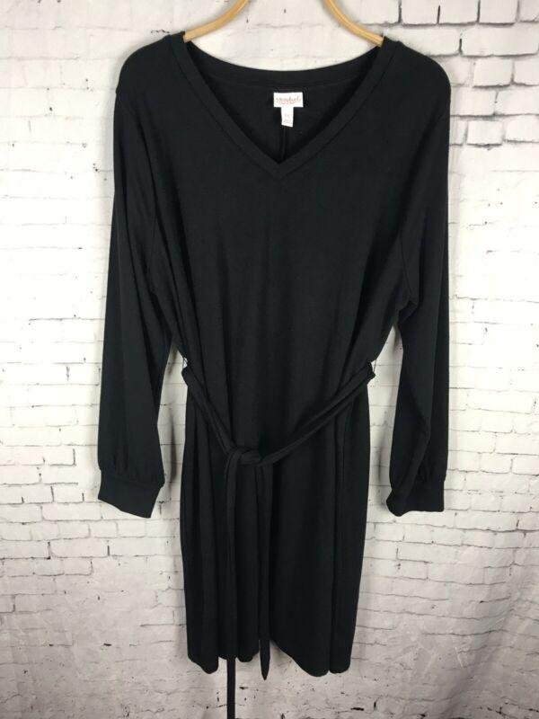 ISABEL MATERNITY BLACK DRESS 2XL WOMEN