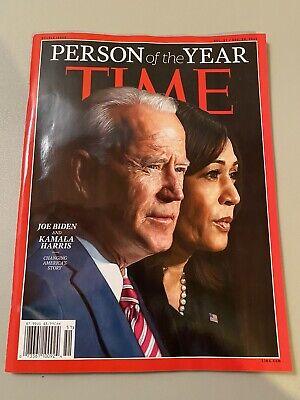 TIME MAGAZINE December 2020 Person Of The Year Joe Biden Kamala Harris BTS