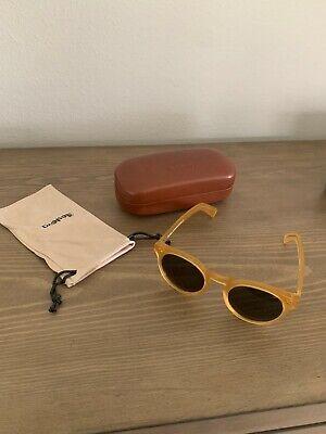 Illesteva Leonard II Women's Honey Round C.27 50 23 145 Sunglasses