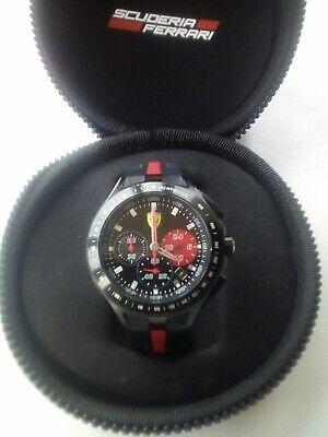 Scuderia Ferrari  Mens Race Day Wrist Watch 0830023