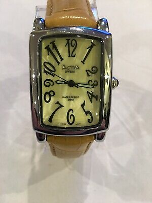 "ACTIVA""Unisex"" Quartz Swiss Watch Excellent & Guaranteed!"