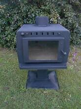"""WOOD HEATER / POT BELLY   -  MAXI-HEAT  """"LOGGER"""" Leeming Melville Area Preview"""